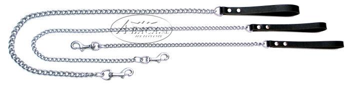image:lederen handvat met kettinglijn