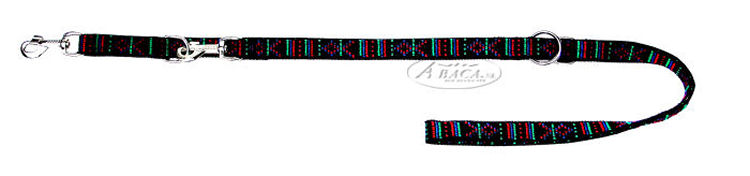 image:Abaca kunststof dressuurlijn 3x verstelbaar, Indian