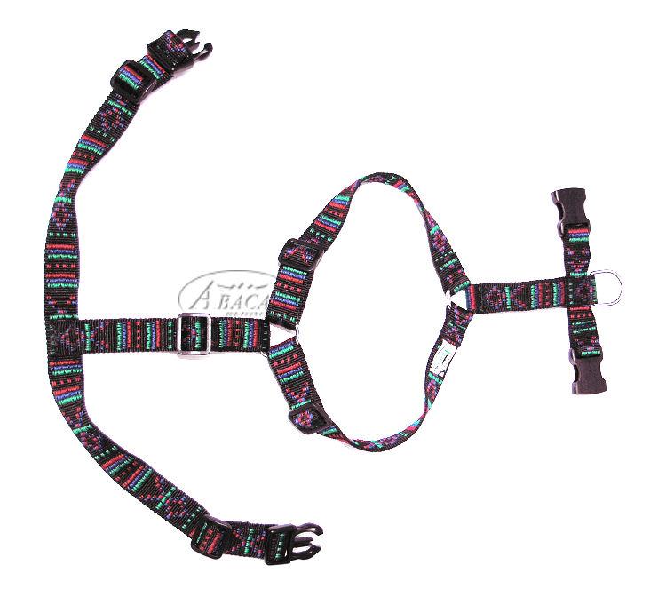 image:Abaca hondentuig, vijfvoudig verstelbaar, Indian